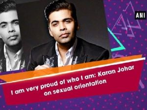 I am very proud of who I am: Karan Johar on sexual orientation – Bollywood News